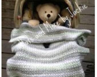 PDF Cozy Carseat crochet pattern