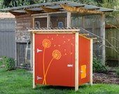 The Garden Coop + The Basic Coop Chicken Coop Plans, Two eBooks (PDFs), Instant Download, Imperial Units (Feet/Inches)