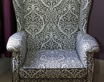 Re Upholstered 1950 S Parker Knoll Wingback Chair