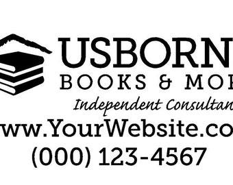 Usborne Books & More Car Decal