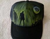 Zombie Trucker Hat 1