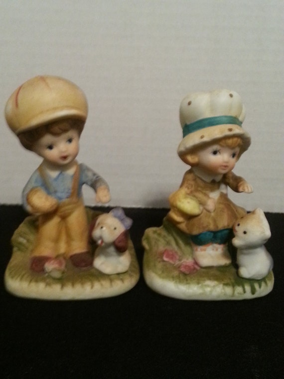 Vintage pair of home interiors gifts inc usa circa for Home interiors gifts inc company information