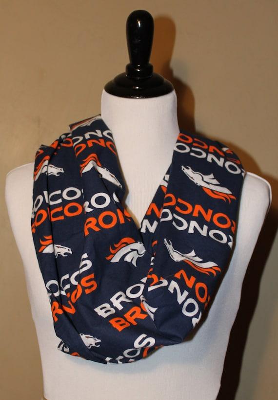 Denver Broncos Wrap Scarf