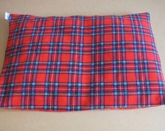 Duvet style fleece/waterproof dog bed/car boot liner - Stewart Tartan