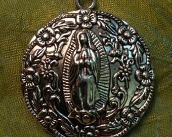 Virgin de Guadalupe Pendant