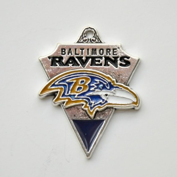 baltimore ravens charm football charm nfl by avenue22supplies