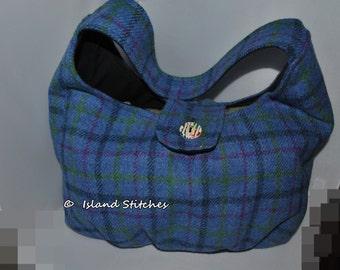 Harris Tweed Hobo Slouch Bag