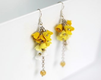 Earrings in bloom (Haladky)