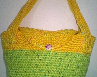 handbag in fresh colors