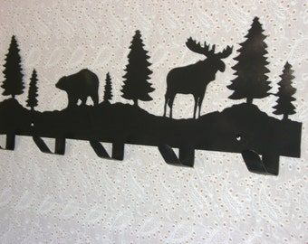 bear and moose coat hooks