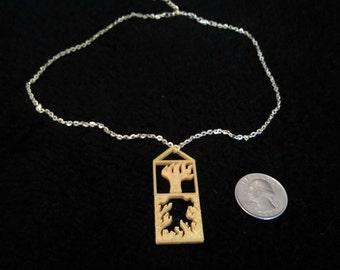 Roots Pendant Necklace