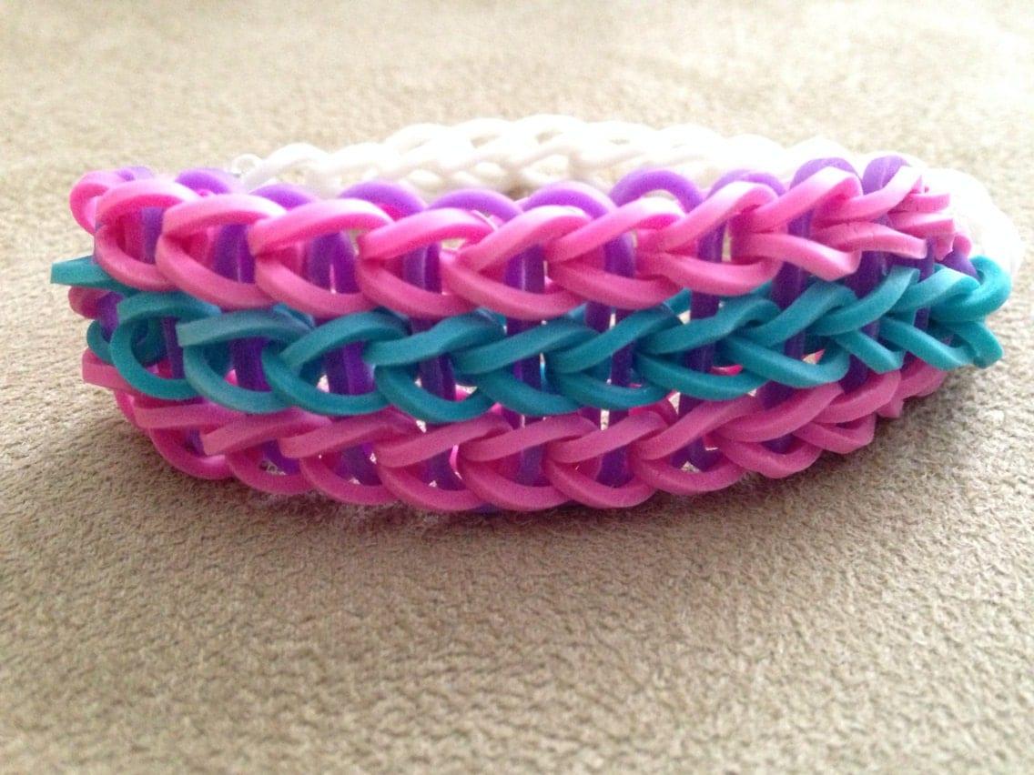items similar to triple single loom bracelet on etsy