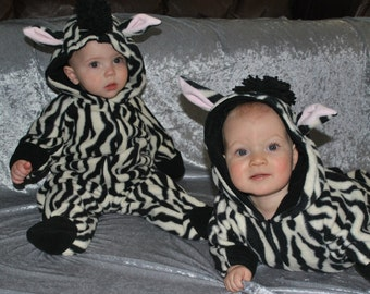 Babies, Zebra Costume, Photographic prop