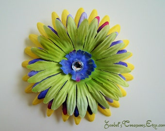 Flower Hair Clip - One Size - #170