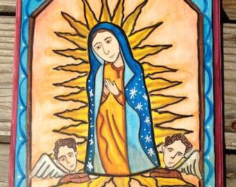Retablo of Lady of Guadalupe
