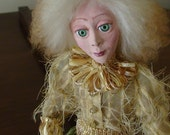 OOAK Handmade doll , Art Doll , Polymer clay doll,  Collecting doll, Sculpted , The fairy Prince