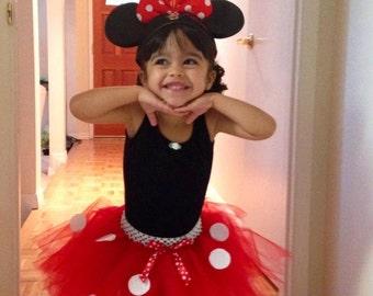 Red Minnie Mouse Tutu