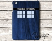 iPad 2 Case, iPad 3 Case, iPad 4 Cover, iPad 5 Case, iPad Mini case, iPad Air Case, Doctor Who Tardis inspired, iPad Mini 2 Case, iPad Case