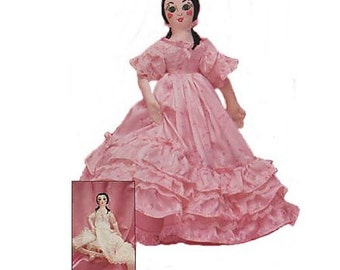 "16"" Southern Belle Doll Pattern"