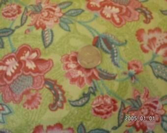 VIP fresh floral fabric