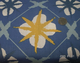 Blue star fabric free spirit
