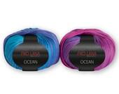 Pro Lana OCEAN pink-blau (34)