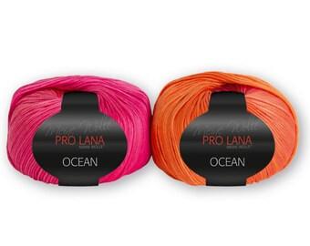 Pro Lana OCEAN orange-pink (28)