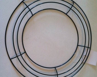 Round wire wreath base blank 14 inches