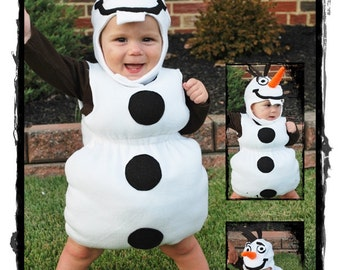 Snowman Halloween Costume - Frozen Snowman