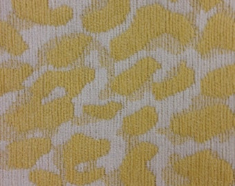 Yellow Cheetah Upholstery Fabric - Upholstery Fabric By The Yard