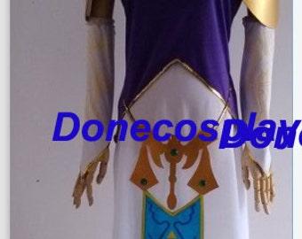 New arrival--The Legend of Zelda twilight princess zelda cosplay costume zelda dress