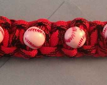 Paracord Softball or Baseball Bracelet