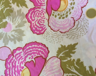 Fabric by the 1/2 yard - Amy Butler Midwest Modern Collection - Fresh Poppies in Fushia