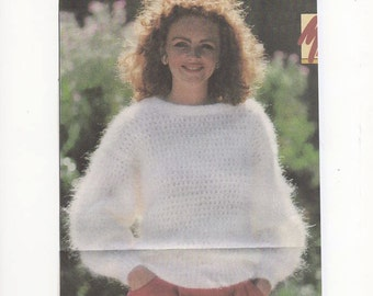 Knitting Patterns For Mohair Jumpers : Popular items for mohair patterns on Etsy