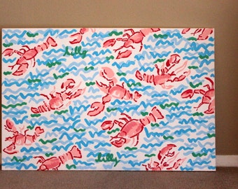 Lilly Pulitzer Print Canvas