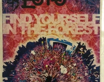 Electric forest 2014 print