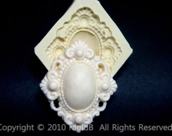 Silicone molds,Sugarcraft Molds, Polymer Clay,Soap Molds, Cake Decorating Tools,Candy, Chocolate,Elegance Brooch