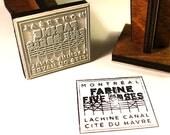 Farine Five Roses Montreal Stamp