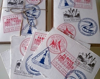 Montreal Stamps Cards