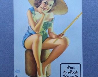 Earl Moran Pin-Up Girl Picture