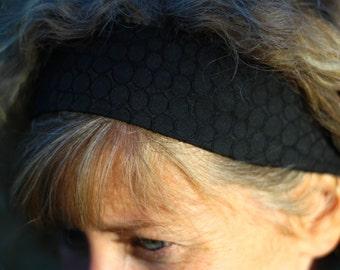 Hairband - Black Circles