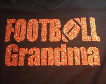 Football Mom/Grandma tshirt