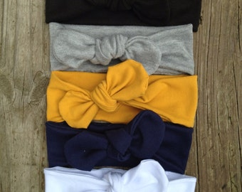 Baby Knot Headbands! Fabulous Value Deal! 4 Headbands for a great price. Baby Turbans, Kids, adults knot headbands, top knot headbands