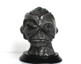 Hand made Iron Maiden inspired Somewhere  In Time Eddie statuette