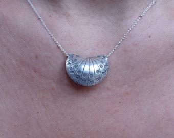 increasing Silver Pendant