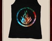 Dauntless logo_For Women tank top_Black_OR_White