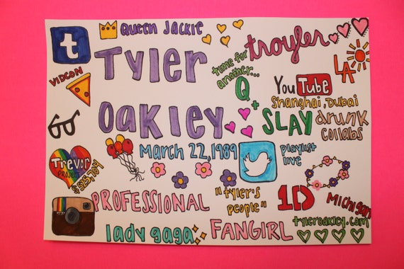 Tyler Oakley Collage