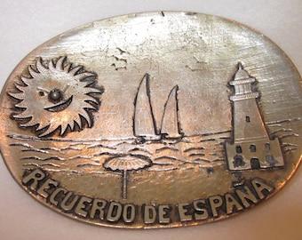 Recuerdo de Espana Souvenir Catch-All Tray