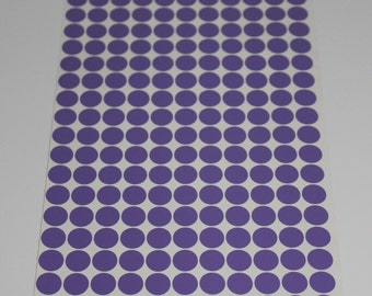 Vinyl Polka Dots. 1/2 Inch Vinyl Polka Dots - Pick Your Color for Crafts and Wall Decorating -  230 dots