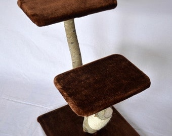 Natural tree / scratching post for cats - Agrimony solid